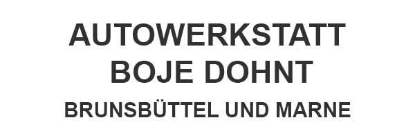 Autowerkstatt Boje Dohnt | KFZ-Reparatur Alle Marken